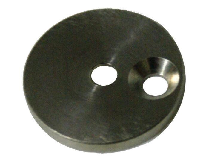 Halter für Piko-Taster Grundplatte M5 x 10 Edelstahl