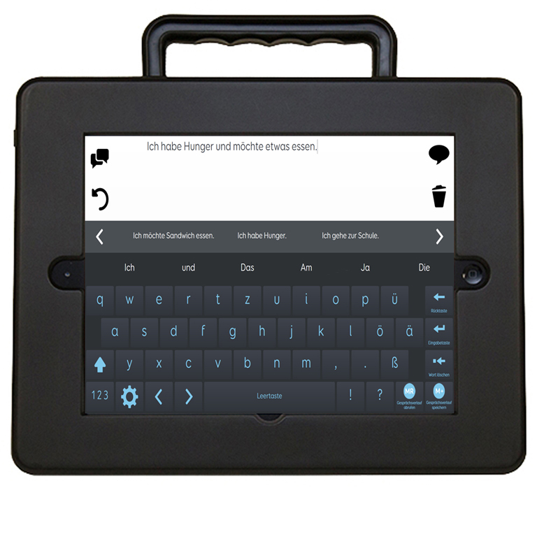 AssistivePad Grid Talk