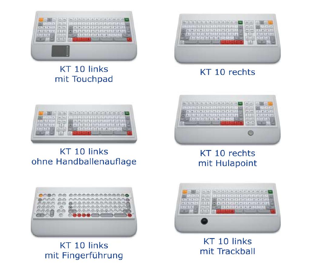 ABP KT 10 Kleinfeldtastatur  verschiedene Modelle