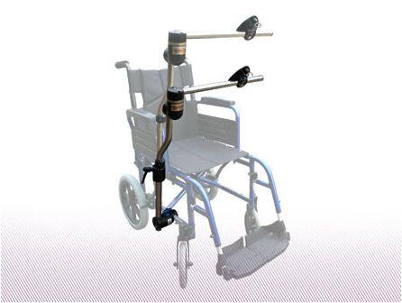Daessy Rollstuhlhalterung Typ 4