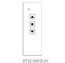 Handsender RT32  1- Kanal schwarz, glänzend