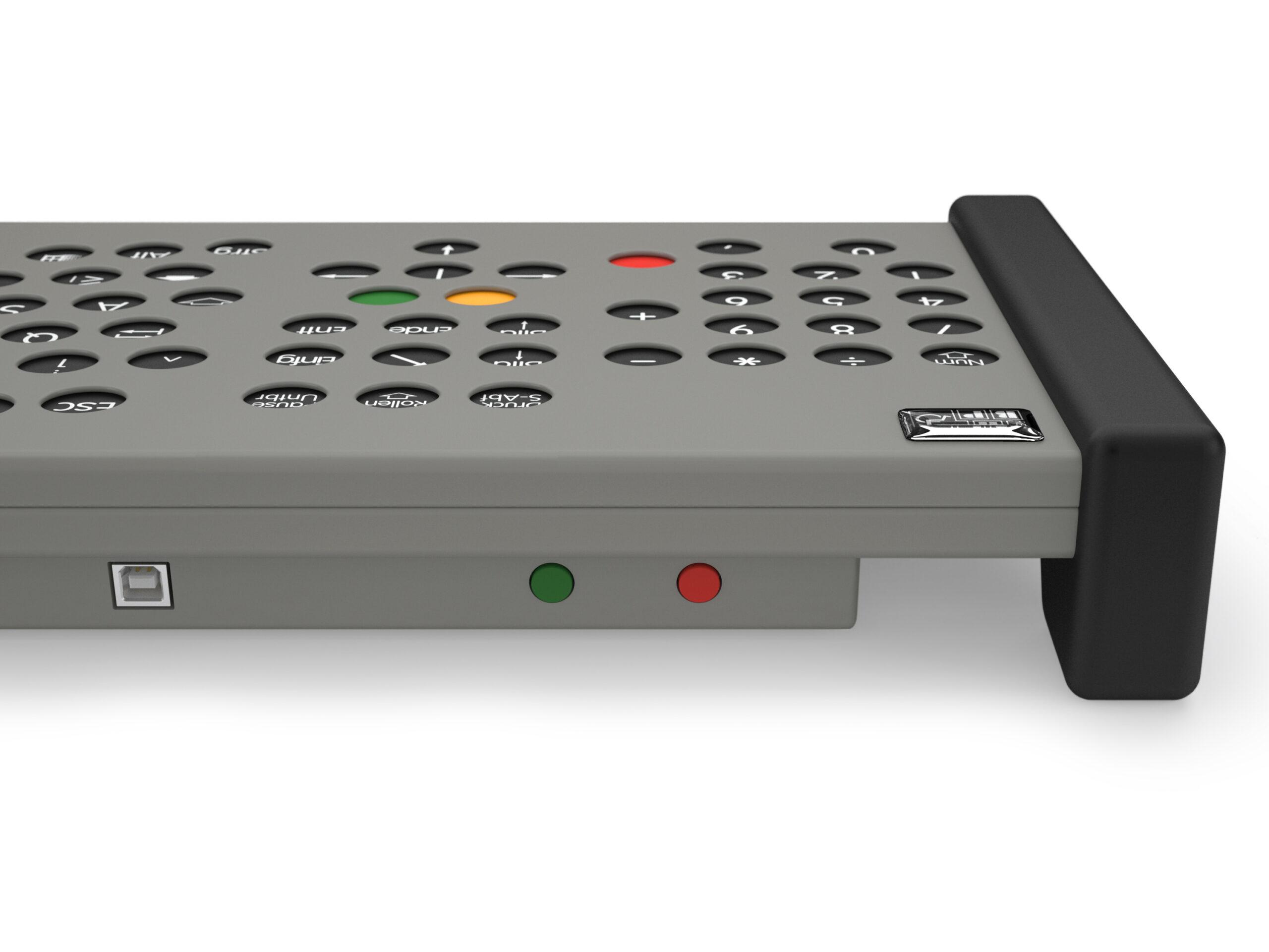 ABP GFT Classic mit Nummernblock invertierte Tastenfarbe (Sehbehinderte) rechts