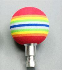 JA MicroPilot Rainbow Ball Joystickaufsatz Auslenkung mittel