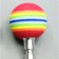JA MicroPilot Rainbow Ball Kugel hart bunt (40mm Ø), hart