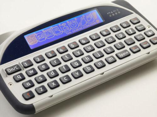 Lightwriter SL40 QWERTZ Connect rechts, weiß, integr. Mobiltelefon