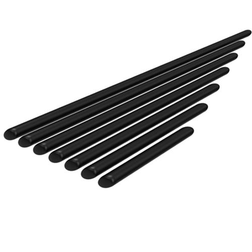 Stange Ø 10 mm, verschiedene Längen 40 mm bis 350 mm HidrexFlex