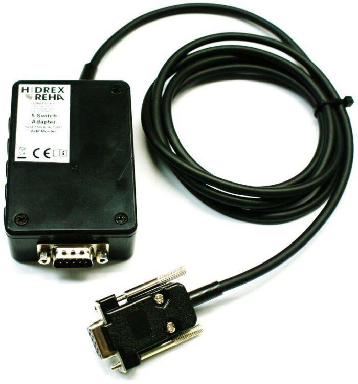 5-Switch Adapter SUB-D9 zum Anschluß von 5 Tastern