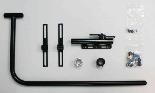 Gestänge Montage Sets für Therapietische 300 mm & 350 mm, abschwenkbar