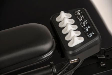 5-Kanal Sitzsteuerung Digital / R-Net 5 Gummi-Wipptaster