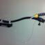 Kugelgelenkschwanenhals für Pneumatiksensor I