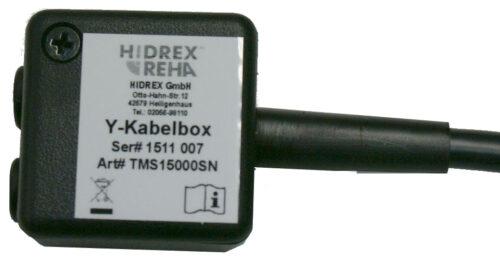 TMS Y-Kabelbox TMSX/TMSO für Tischmittelsteuerungen Hidrex