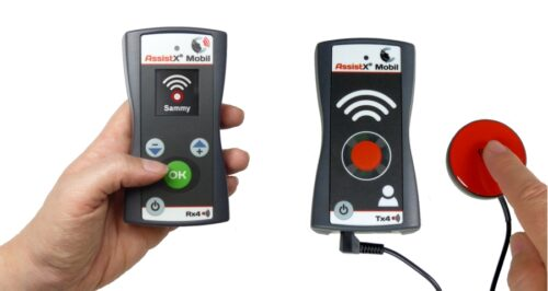 AssistX Mobil Set plus Drahtloses Haus- und Pflegerufsystem