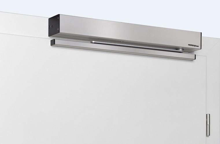Gleitschiene HIDREX Door für Glastüren Silber