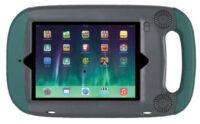 GoNow iPad Air Hülle silber/grün
