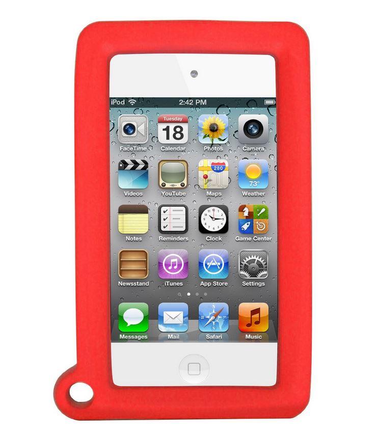 BigGrips Buddy Sturzrahmen für iPod® touch Rot