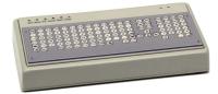 ABP Muskeldystrophiker-Tastatur ohne Handballenauflage mit Fingerführung