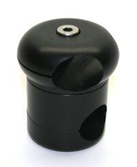 Basis Rahmenklemme Ø 25 mm mit Stangenaufnahme Ø 22 mm