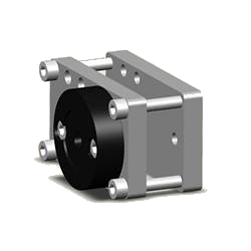 Rahmenklemme für eckige Rohre Ø 30mm bis Ø 70mm HidrexFlex