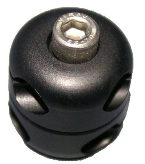 HidrexFlex Doppelklemme eloxiert rund 8/10mm