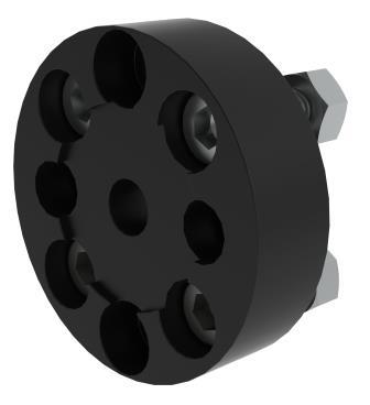 Rahmenadapter Permobil Uni Track HidrexFlex