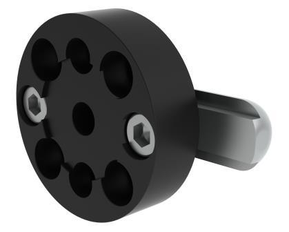 HidrexFlex M3D-Rahmenadapter  T-Nut 16 mm x 6,5 mm, C-Profile