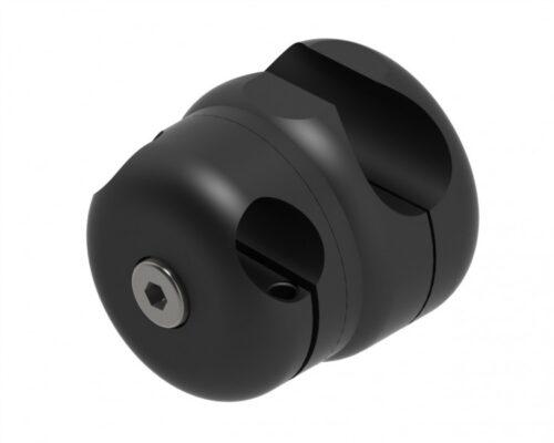 Rahmenklemme Ø 19 mm offen mit Basis Ø 16 mm Hidrex Flex