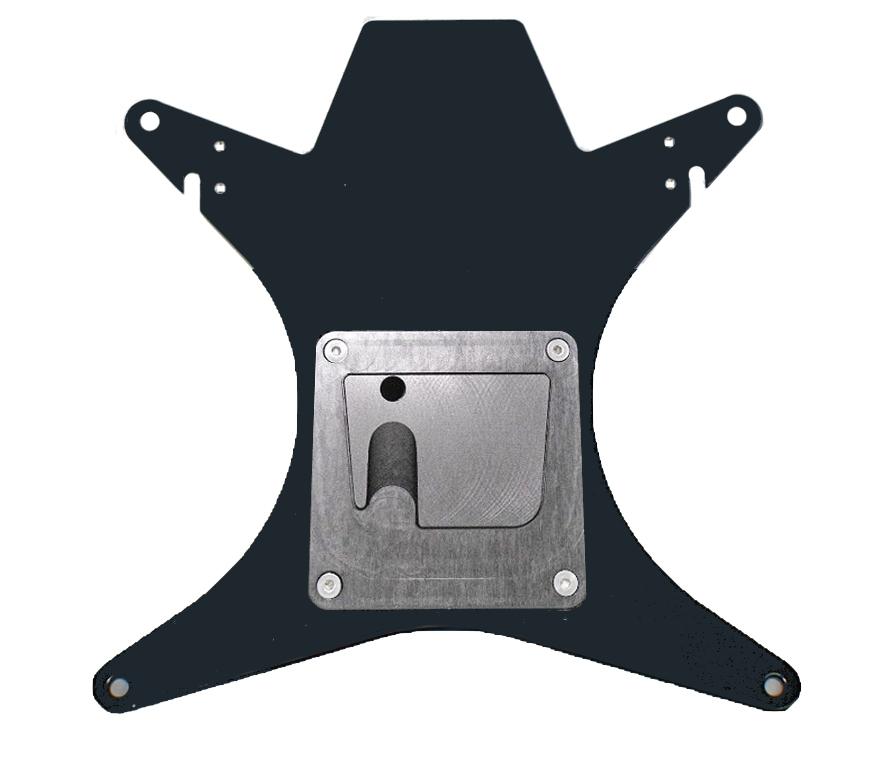 Adapterplatte mit Monty UGA für HK 13 / NEOS 13