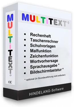 Multitext Sprachausgabe Erweiterung Einzelversion