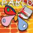 Pablo / Ein kreatives Malbuch mit Scanning