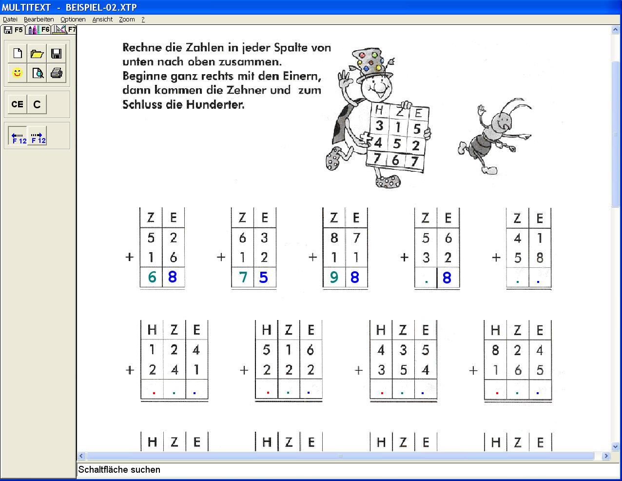 Multitext mit Altus Pro ohne Sprachausgabe