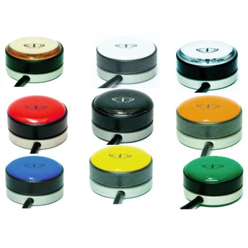 Piko Buttons Ø 30 mm, verschiedene Farben